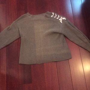 ZARA kids Oliver green knit sweater